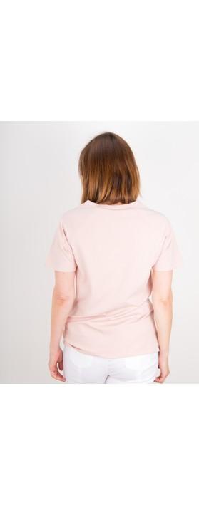 Chalk Darcey Small Star Top Pink