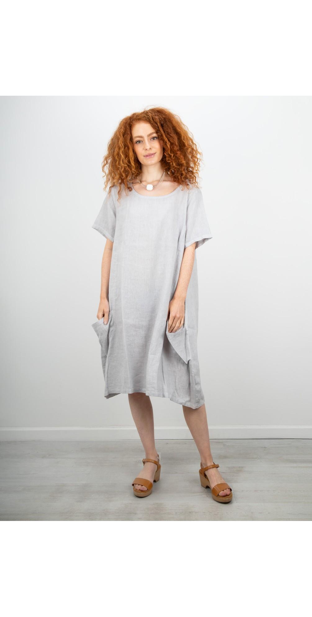 Linen Pocket Dress main image