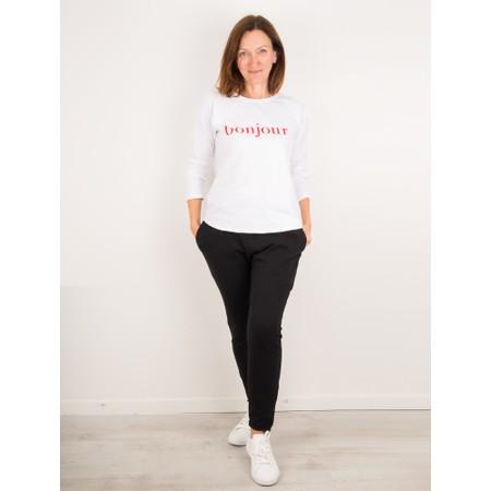 Chalk Gemini Exclusive ! Tasha Bonjour Top - White