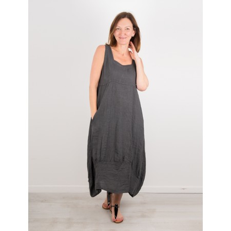 TOC Demelza Linen Dress - Black