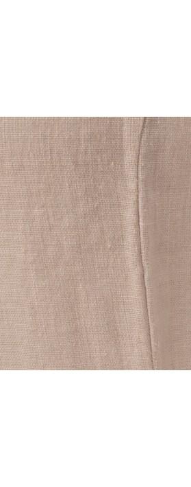 Focus Sleeveless Linen Dress Silver