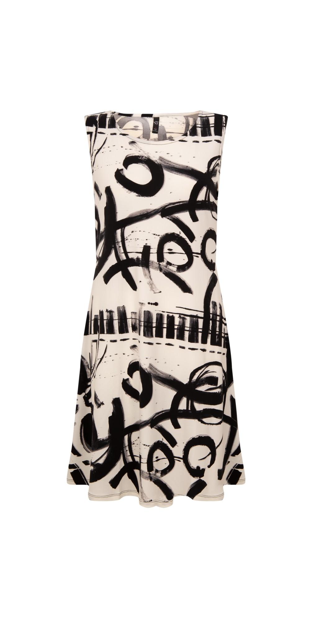 Sleeveless Print Dress main image