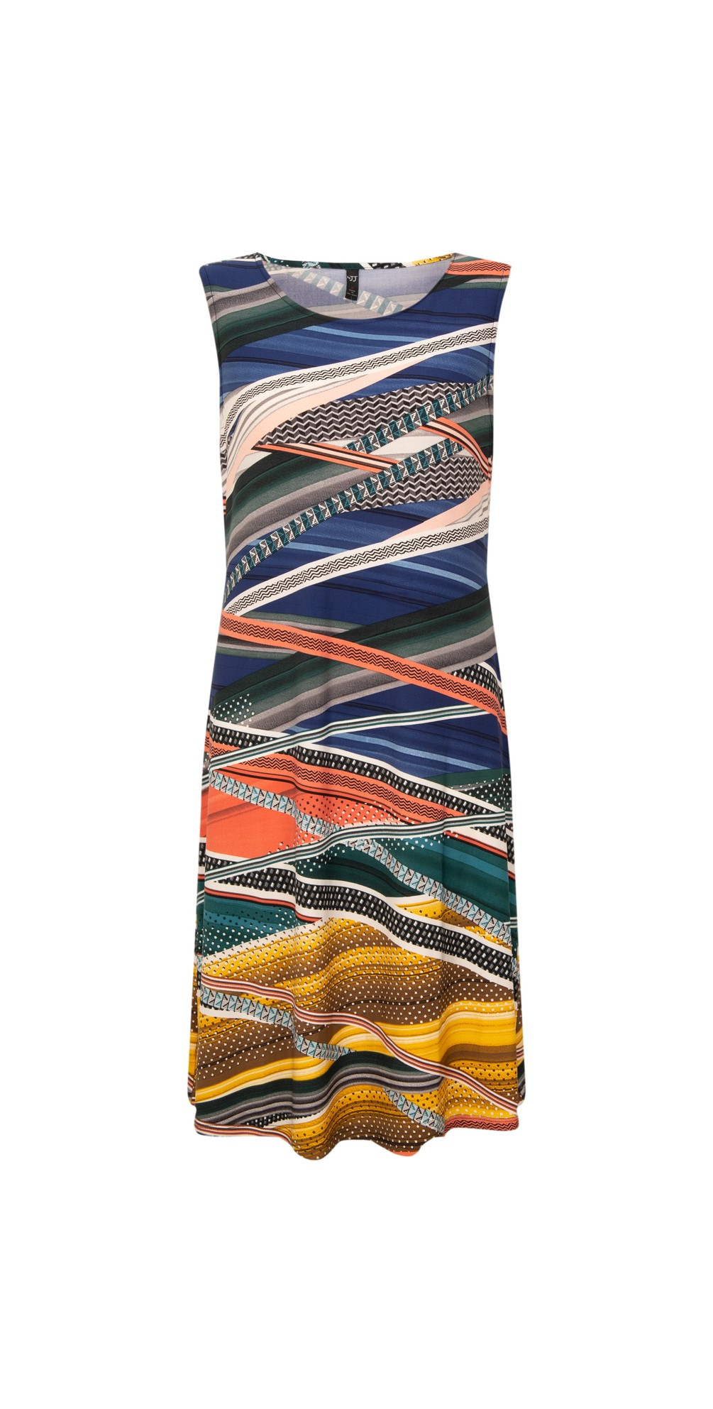 Sleeveless Printed Dress main image