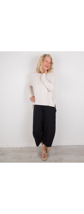 Amazing Woman Judy SuperSoft Highlow Jumper Off White