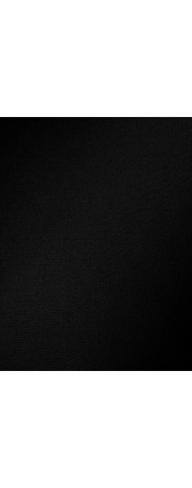 Focus Asymmetric 3/4 Sleeve Top  Black