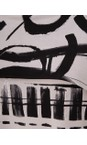 Focus Graf Grey Shawl Sleeve Printed Tunic