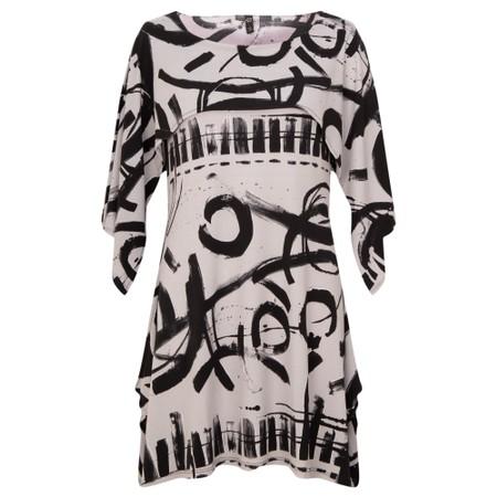 Focus Shawl Sleeve Printed Tunic - Multicoloured