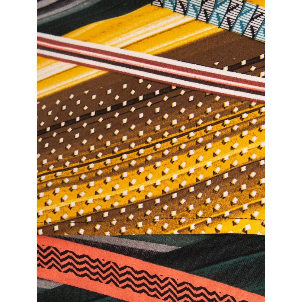 Focus Shawl Sleeve Printed Tunic Snake