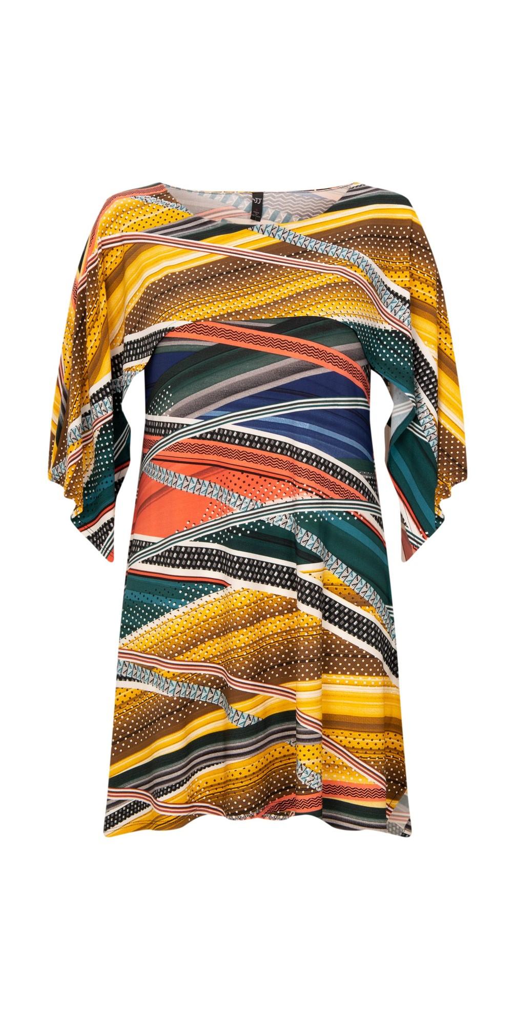 Shawl Sleeve Printed Tunic main image