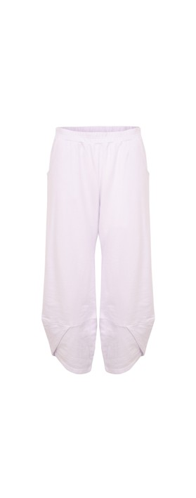 Focus Wide Jersey 3/4 Trouser White