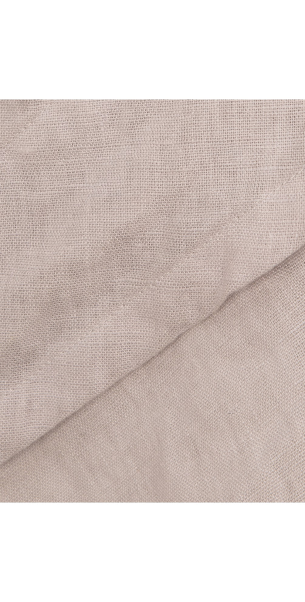 Capped Sleeve Linen Top main image