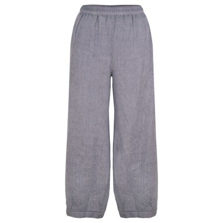 Focus Linen Trouser - Blue