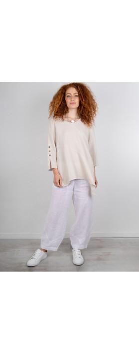 Focus Linen Trouser White