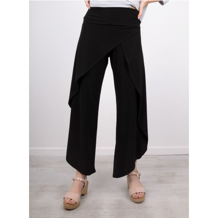 Focus Wide Leg Trouser - Black