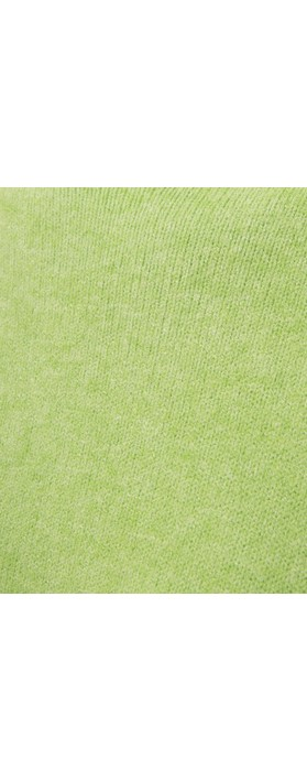 Amazing Woman Jodie Front Pocket Supersoft Knit Jumper Summer Green