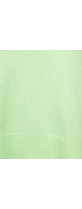 Amazing Woman Judy SuperSoft Highlow Jumper Mint Green