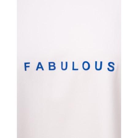 Chalk Robyn Bright Fabulous Top - White