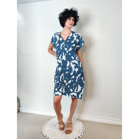 Mes Soeurs et Moi Limonade Dress - Blue