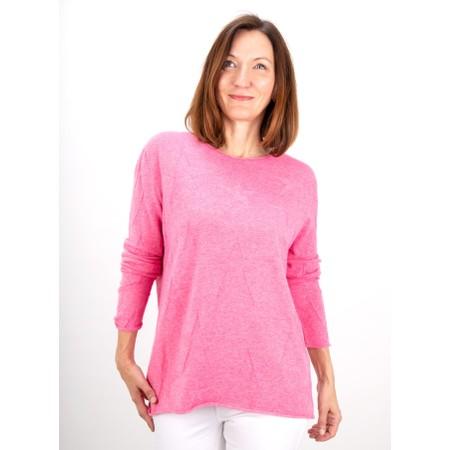 Amazing Woman  Hidden Star Supersoft Easyfit Jumper - Pink