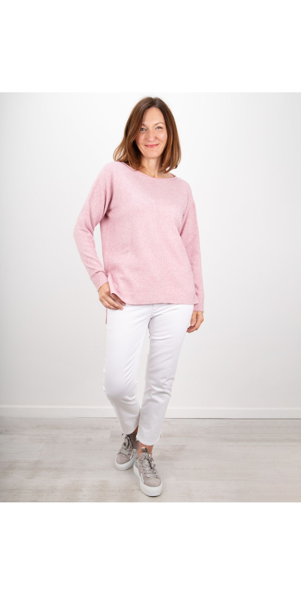 Maggie Seam Front Supersoft Jumper main image