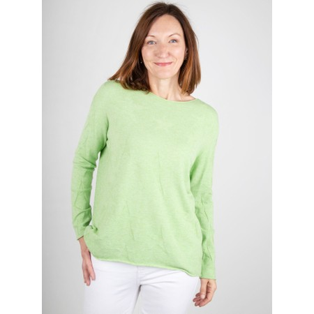 Amazing Woman  Hidden Star Supersoft Easyfit Jumper - Green