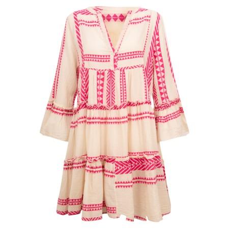 TOC Ella Greek Style Tunic Dress - Pink