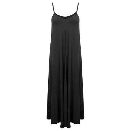 Gemini Label  Zadie Maxi Strap Dress - Black
