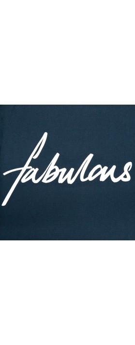 Chalk Robyn Fabulous Top Navy / White