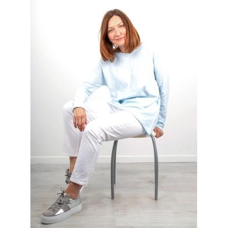 Amazing Woman  Hidden Star Supersoft Easyfit Jumper - Blue