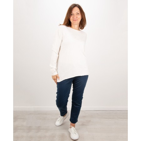 Amazing Woman  Hidden Star Supersoft Easyfit Jumper - Off-White