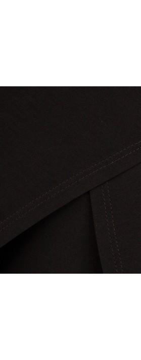 Focus Wide Leg Trouser Black