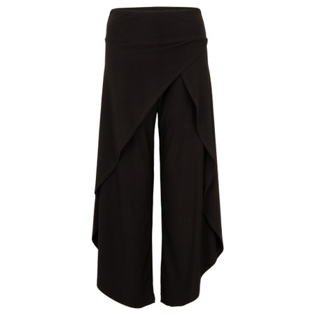 Focus Wide Leg Trouser - Black