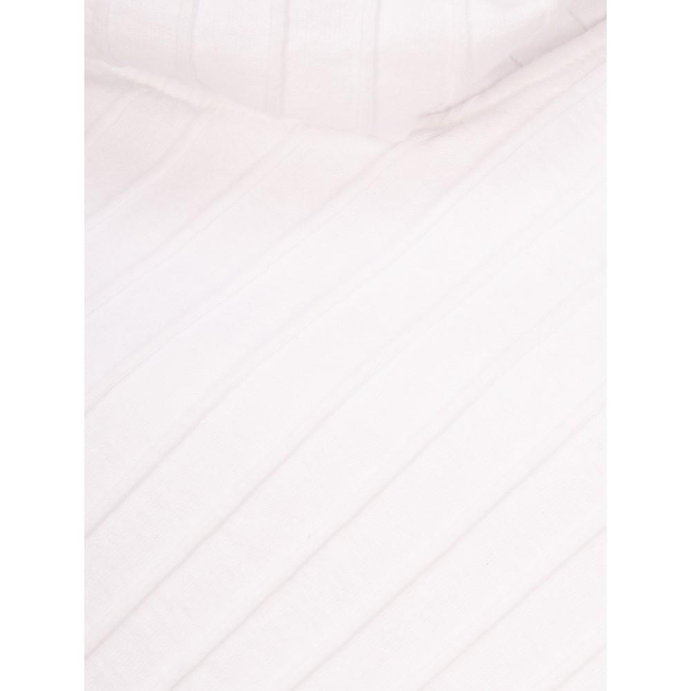 Focus Cowl Neck Sleeveless Top White