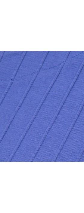 Focus 3/4 Sleeve Pocket Tunic Blueberry