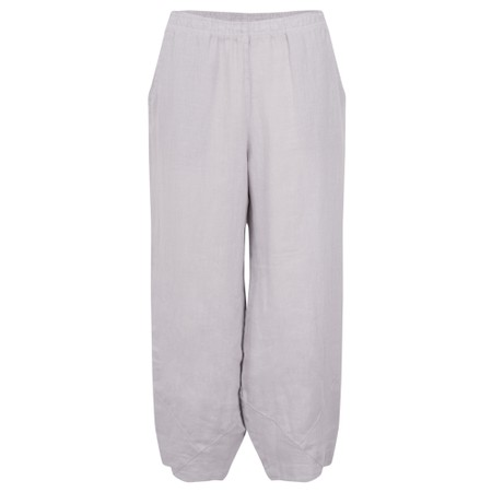 Focus Linen Trouser - Metallic
