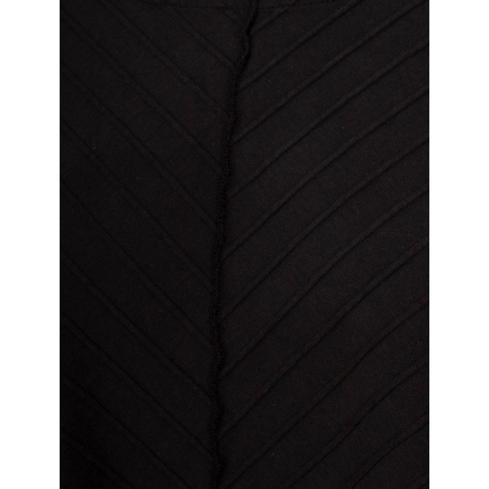 Focus 3/4 Sleeve A-Line Tunic Black