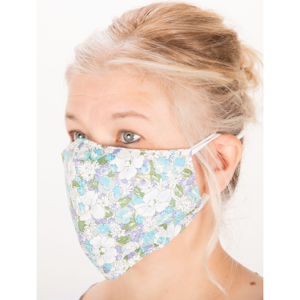 Jayley Floral Face mask  MKDH14A-07S F GREEN