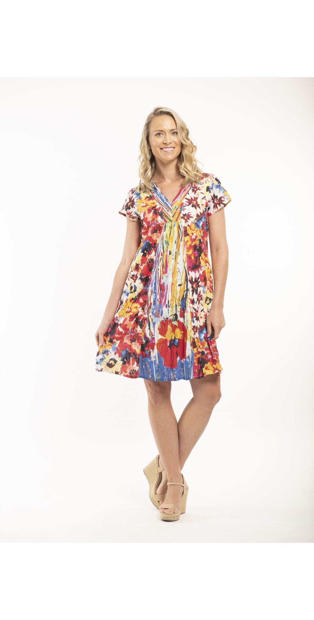 Easy Fit Floral Dress main image
