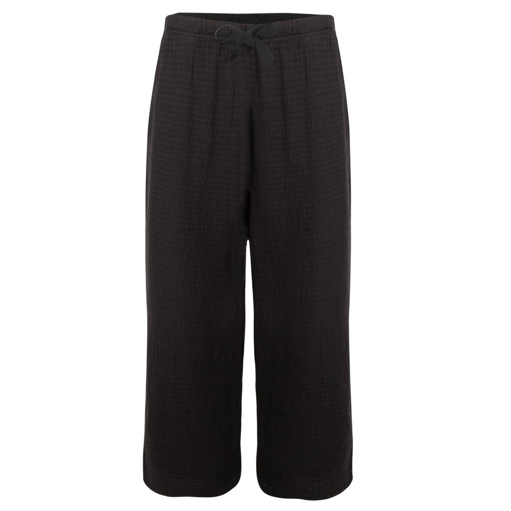 Focus 3/4 Wide Leg Trouser Black