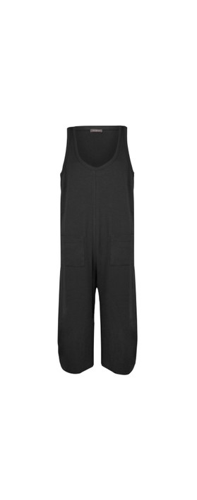 Chalk Bev Jumpsuit Black