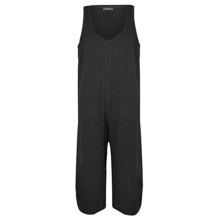 Chalk Bev Jumpsuit - Black