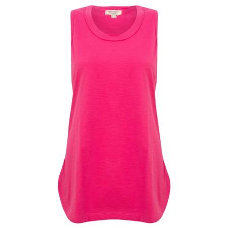 Orientique Essential Cami Tee Top - Pink