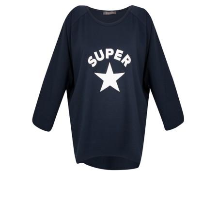 Chalk Robyn Super Star Top - Blue