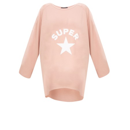 Chalk Robyn Super Star Top - Pink