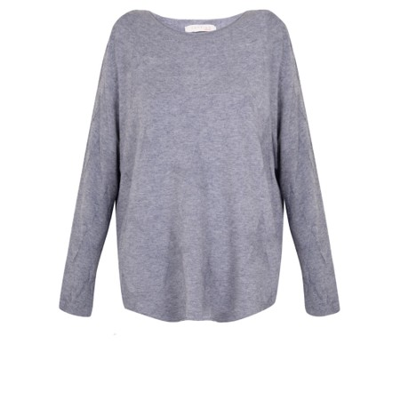 Amazing Woman  Hidden Star Supersoft Easyfit Jumper - Blue