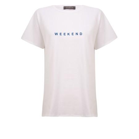 Chalk Darcey Bright Weekend Top - White