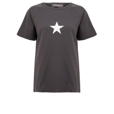 Chalk Darcey Small Star Top - Black