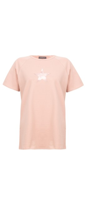 Chalk Darcey Small Star Top Pink / Rose Gold