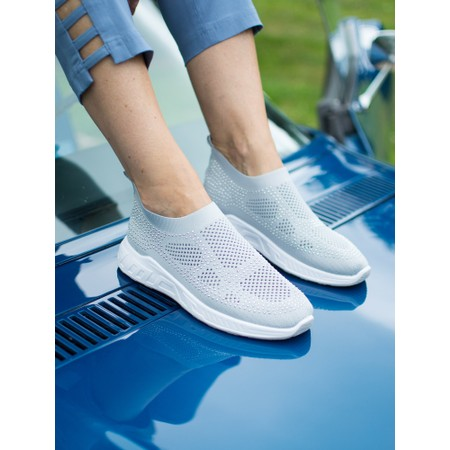 Livshu Malmo Knitted Trainer Shoe - Grey