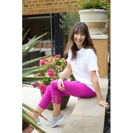 Robell  Lena Ankle Detail Trouser - Pink